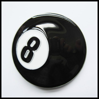 Hebilla nº 8 negra