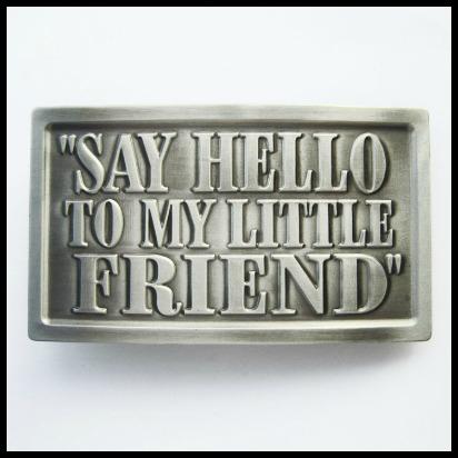 Hebilla say hello