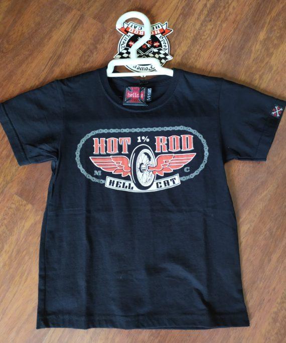 camiseta niño hot rod