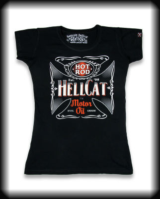 camiseta chica HELL CAT GT012