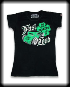 camiseta chica irish black GT017