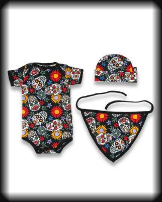 set bebe 3 piezas skull mexicanas 1 SBSET013 (1)