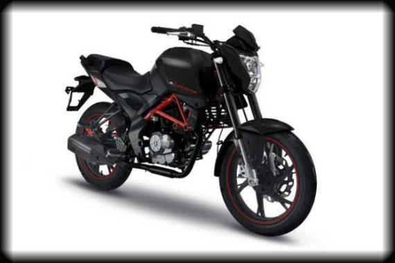 GRS 125 negra