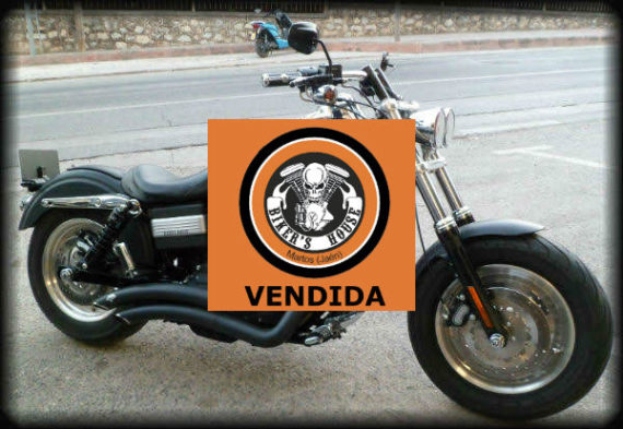 39 HD FAT BOB 2008 VENDIDA