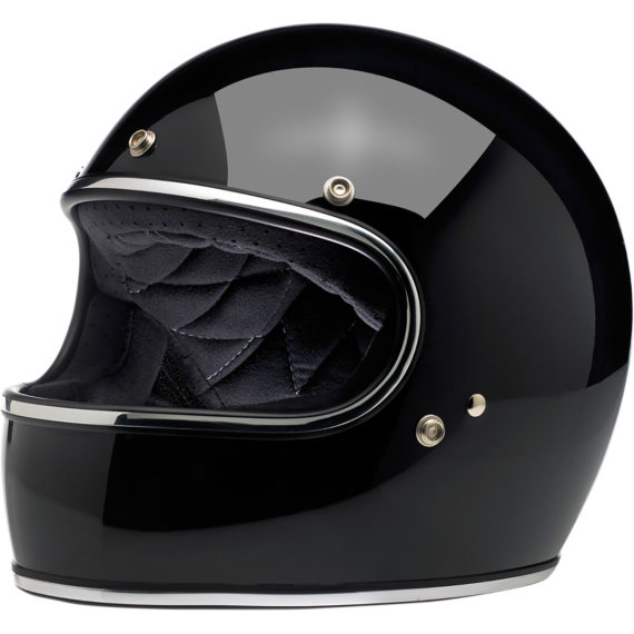 casco gringo negro brillo