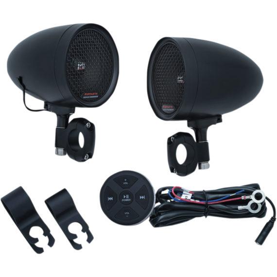 controlador audio negro